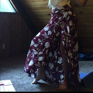 Flynn Skye Maxi Floral Boho Skirt